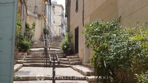 Side street of the Rue du Panier