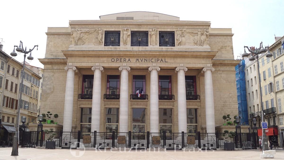 Marseilles Opera Municipal