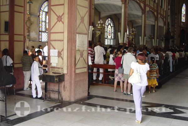 Martinique-Gottesdienst in der Kathedrale