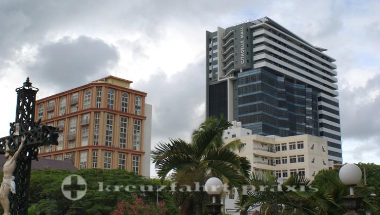 Mauritius - Port Louis - Moderne Geschäftshäuser