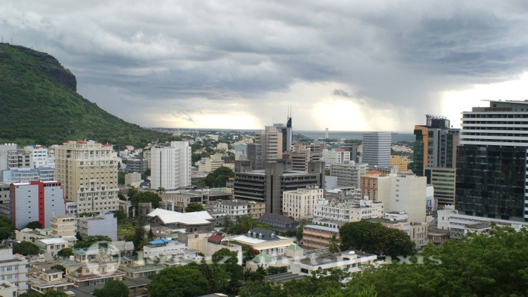 Mauritius - Sykyline von Port Louis
