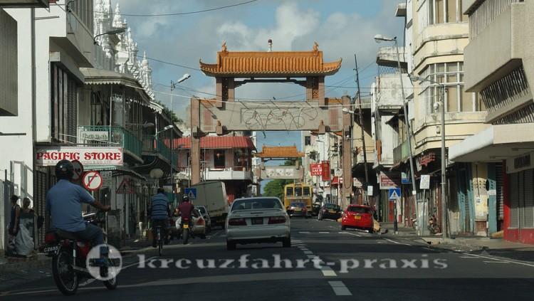 Mauritius - Port Louis - Freundschaftstor der Chinatown