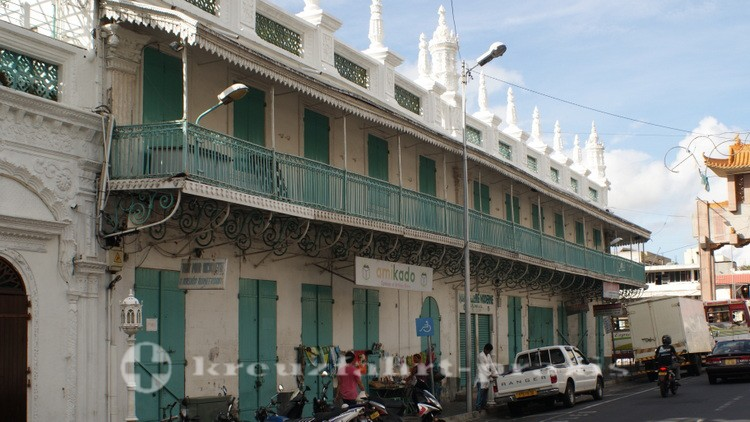 Mauritius - Port Louis - Jumma Moschee