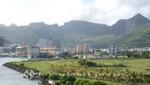 Mauritius - Port Louis vom Kreuzfahrtterminal gesehen