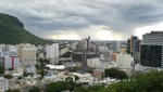Mauritius - Skyline von Port Louis