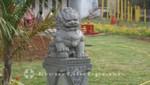 Mauritius - Port Louis - Wächter der Kwan Tee Pagode