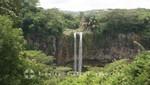 Mauritius - Chamarell Zwillingswasserfall