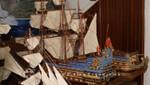 Mauritius - Le Port - Historische Modellschiffe