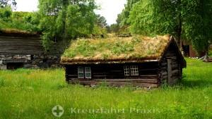 Molde - Hütte im Romsdalsmuseet