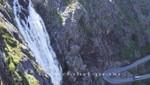 Der Stigfossen Wasserfall