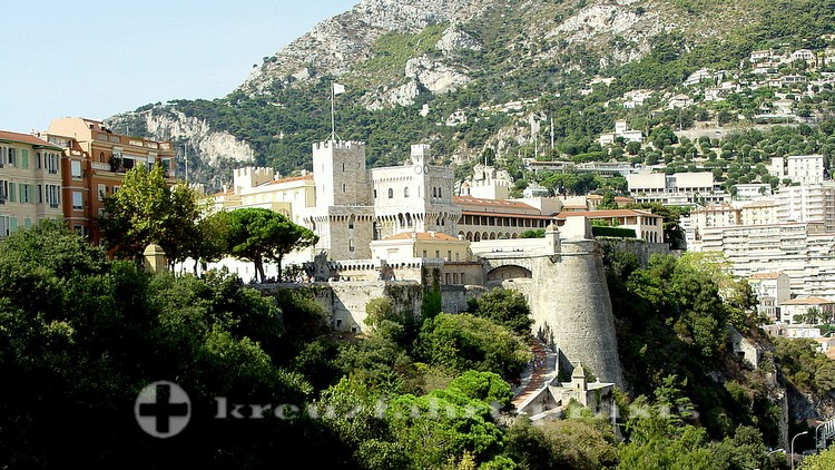 Monaco - Le Rocher mit dem Schloss