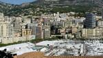 Monaco - Port Hercule mit dem Stade Nautique Rainier lll.