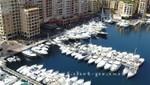 Monaco - Boote in Port de Fontvielle