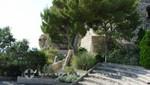 Monaco - Stufen des Freilichttheaters im Fort Antoine