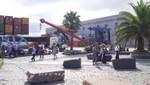 Cruise Terminal Montevideo - Begrüßungszone