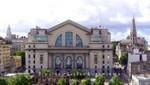 Banco de la República Oriente del Uruguay - daneben Iglesia San Francisco