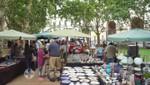 Trödelmarkt auf der Plaza Constitución