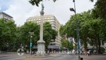 Av. 18 de Julio - Plaza de Cagancha - Columna de la Paz