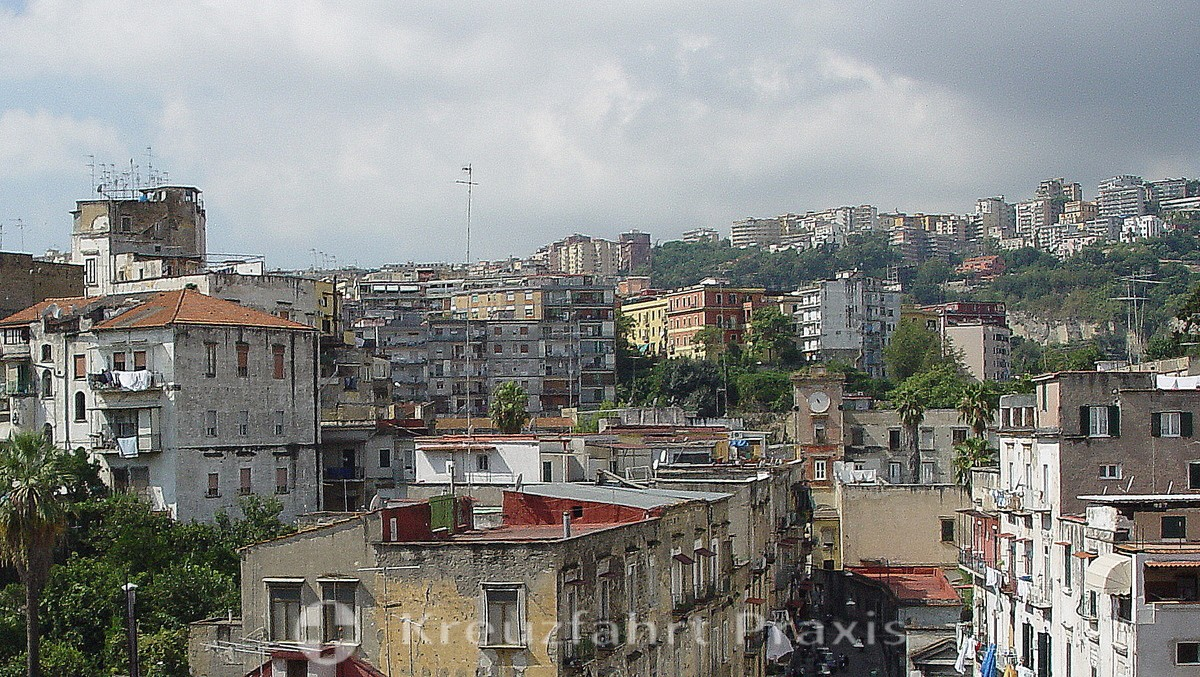 Naples sea of houses