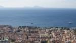 Neapel - Capri im Dunst