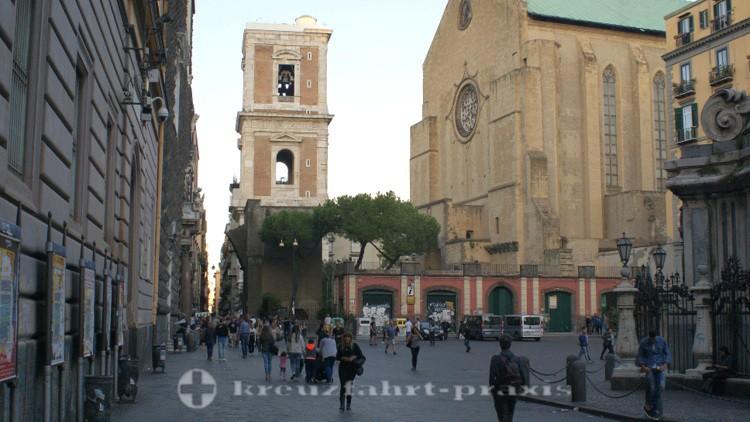Neapel - Piazza del Gesù