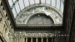 Neapel - Galleria Umberto l - Innenansicht