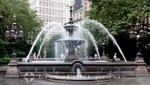 New York - Fontäne im City Hall Park