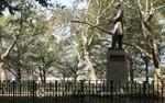 Skulptur im Battery Park