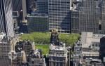 Blick vom Empire State Building auf den Bryant Park