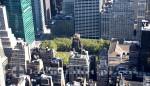 New York - Blick vom Empire State Building auf den Bryant Park