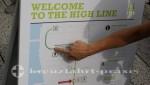 New York - Plan der New York Highline