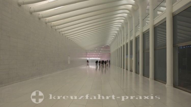 World Trade Center - Durchgang zum Brookfield Place-Bauwerk