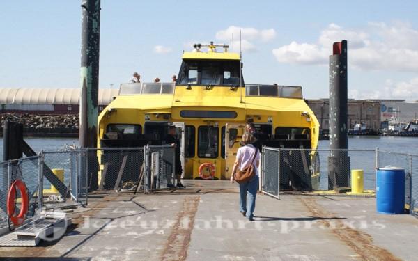 Fähre der NY Waterway