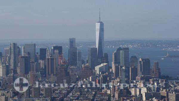 New York - Blick auf das neue World Trade Center