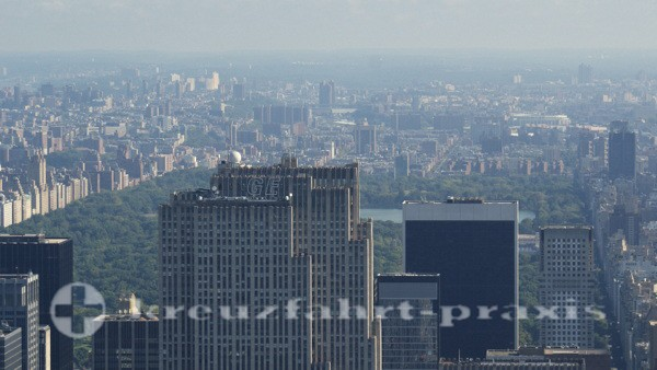 New York - Blick vom Empire State Building auf den Central Park