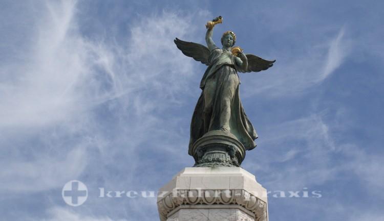 Nizza - Monument du Centenaire - Siegesgöttin Nike