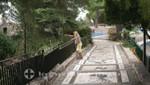 Nizza - Colline du Chateau - Mosaike auf den Wegen