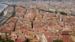Nizza - Blick auf die Altstadt