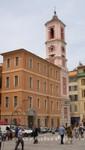 Nizza - Palais Rusca und der Uhrturm