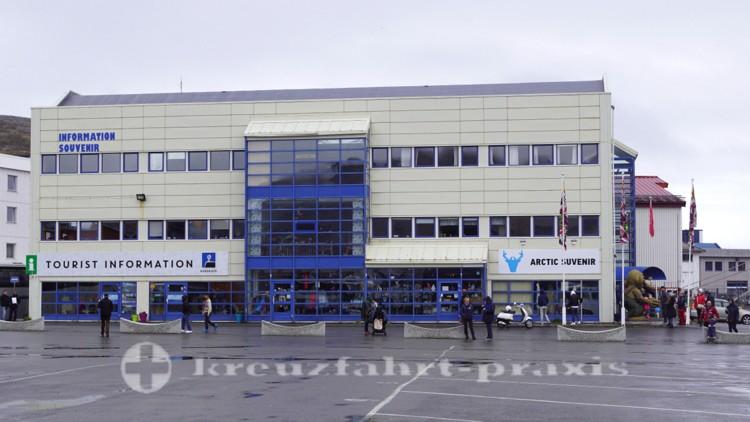 Touristen Information in Honningsvåg