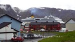 Kreuzfahrtschiff Costa Pacifica in Honningsvåg