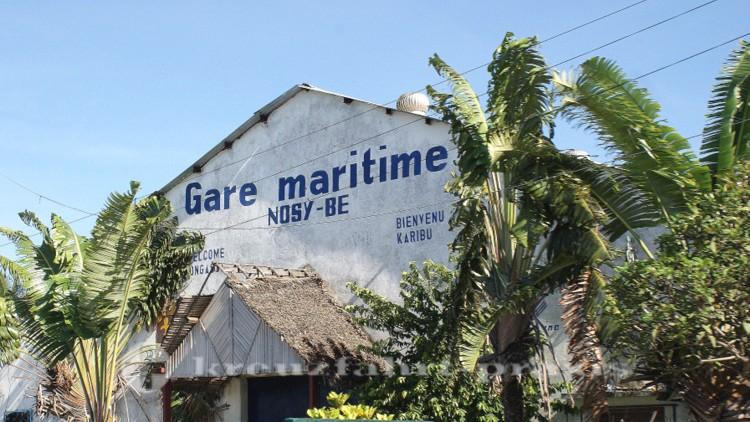 Madagaskar - Andoany - Gare Maritime Nosy Be