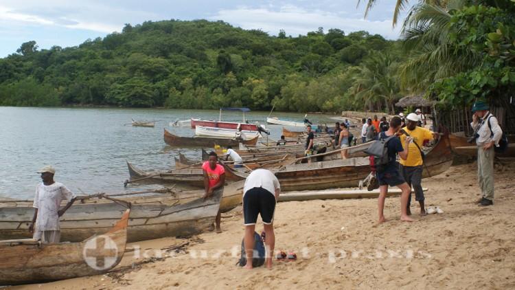 Madagaskar - Nosy Be - Abschied von Ampasipohy