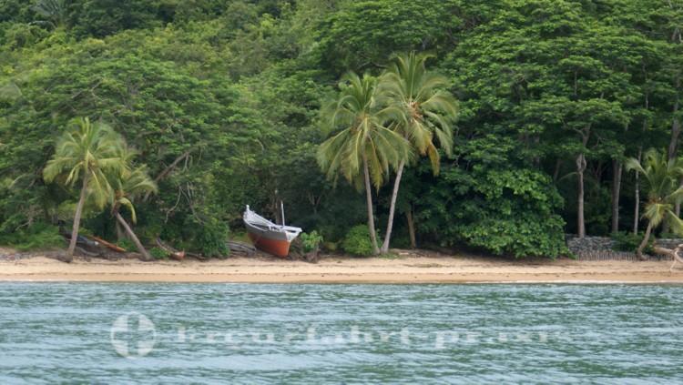 Madagaskar - Nosy Be - Einsames Boot