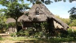 Madagaskar - Nosy Be - Schilfgedecktes Haus