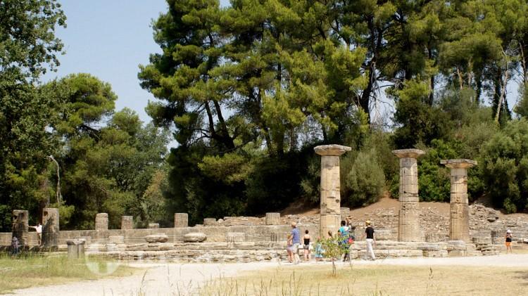 Olympia - Der Hera Tempel