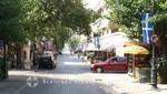 Die Hauptstraße von Olympia