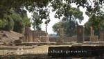 Tempelruine im Hain von Olympia