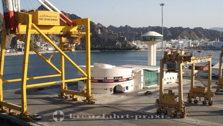 Oman - Maskat/Mutrah Cruiseterminal