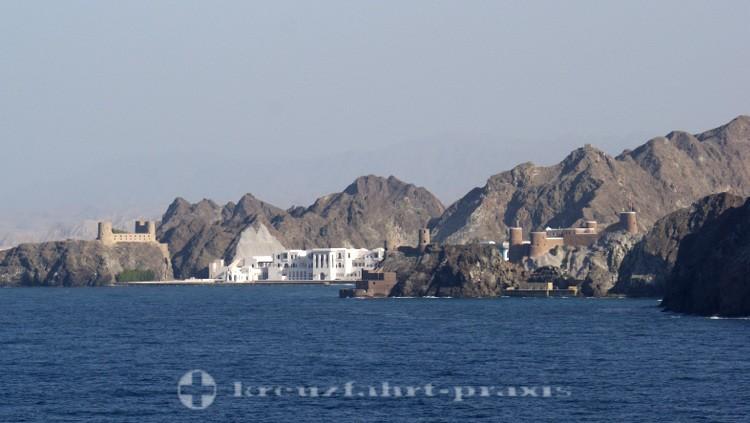Oman - Alt-Maskat - Sultanspalast und Festungen